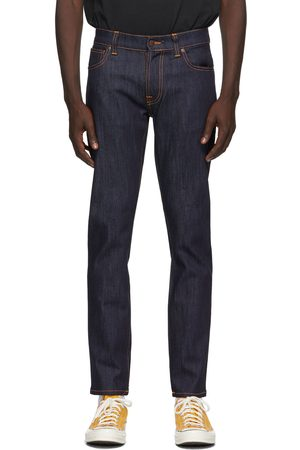 Nudie Jeans Men Jeans - Indigo Dry Thin Finn Jeans