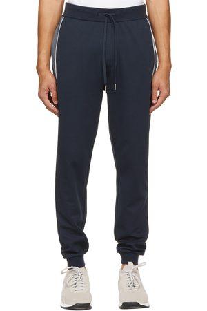 HUGO BOSS Navy Tracksuit Lounge Pants