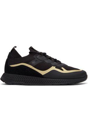 HUGO BOSS Thermo-Bonded Titanium Running Sneakers