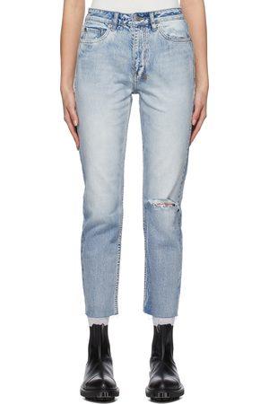 KSUBI Distressed Nine O Jeans