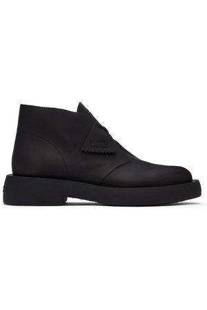 Clarks Leather Mileno Desert Boots