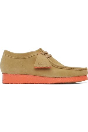 Clarks Tan and Suede Wallabee Derbys
