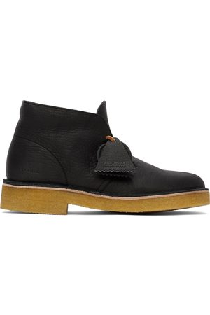 Clarks Leather 221 Desert Boots