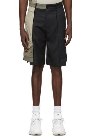 Feng Chen Wang Men Shorts - Paneled Shorts