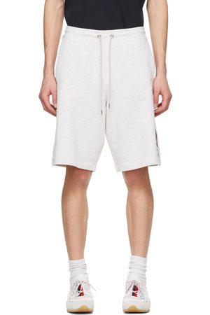 Moncler Men Shorts - Grey French Terry Shorts