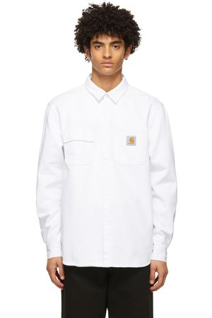 Carhartt Men Casual - Denim Salinac Overshirt