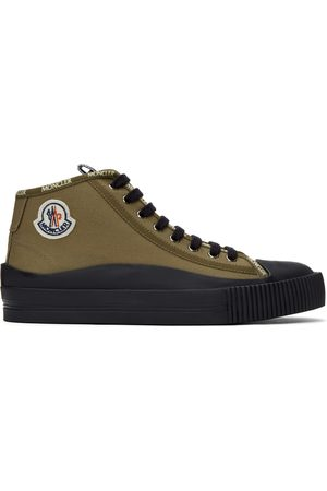 Moncler Khaki Lissex Sneakers