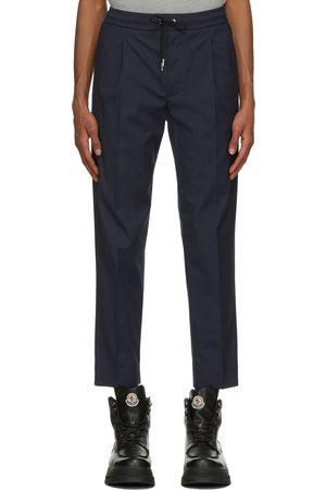 Moncler Navy Sportivo Track Pants