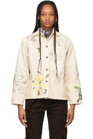 Reese Cooper Women Jackets - SSENSE Exclusive Off- Juliet Johnstone Edition Chore Jacket