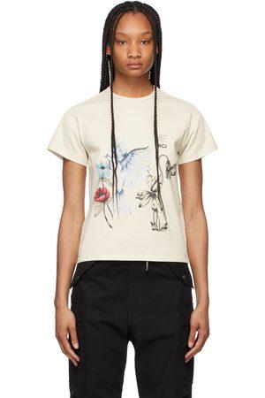Reese Cooper SSENSE Exclusive Off- Juliet Johnstone Edition Cotton T-Shirt