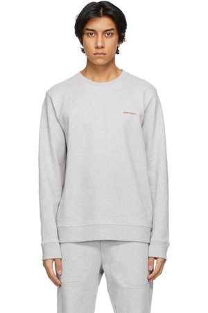 Norse projects Grey Vagn Logo Sweatshirt