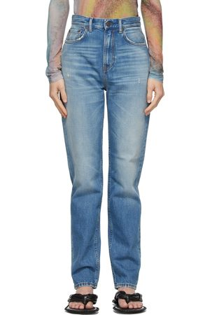 Acne Studios Blue Slim High-Rise Jeans