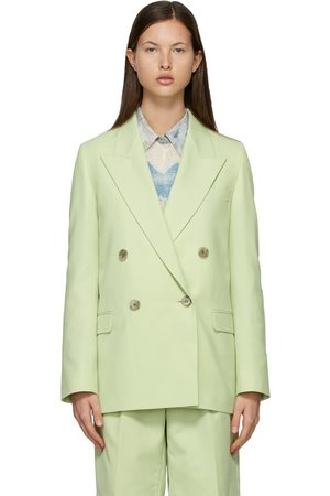Acne Studios Wool Double-Breasted Suit Blazer