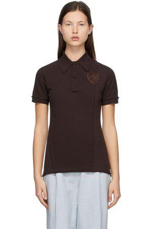 Acne Studios Women Polo Shirts - Pique Polo