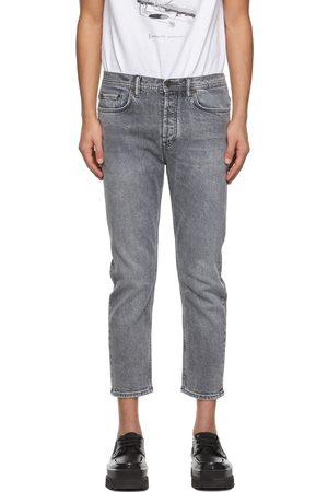 Acne Studios Men Slim - Grey Slim Tapered Fit Jeans