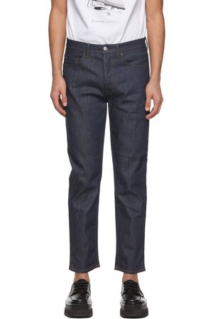 Acne Studios Men Slim - Indigo Slim Tapered Jeans