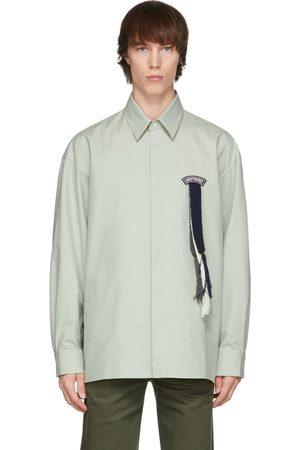 Uniforme Grey Oversized Scouts Ribbon Shirt