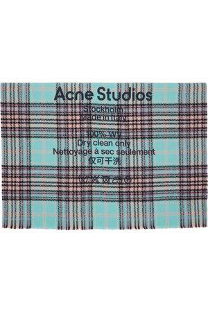 Acne Studios And Wool Tartan Check Scarf