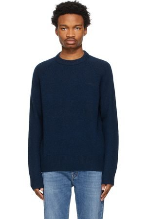 Acne Studios Navy Crew Neck Sweater