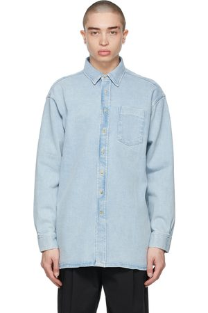 Acne Studios Blue Denim Oversized Shirt