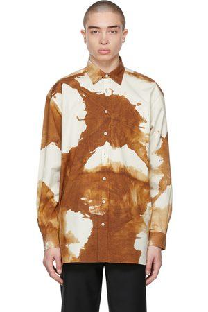 Acne Studios Brown Oversized Shirt