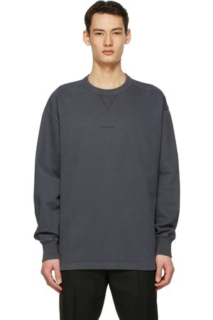 Acne Studios Grey Logo Sweatshirt