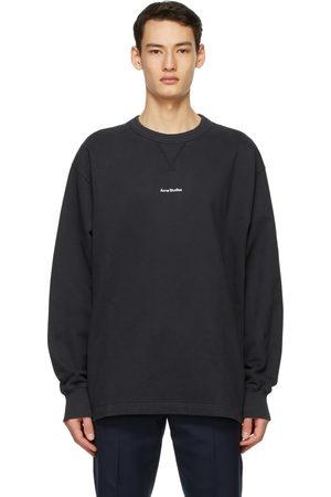 Acne Studios Men Sweatshirts - Logo Sweatshirt