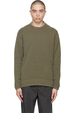 Acne Studios Green Knit Sweater