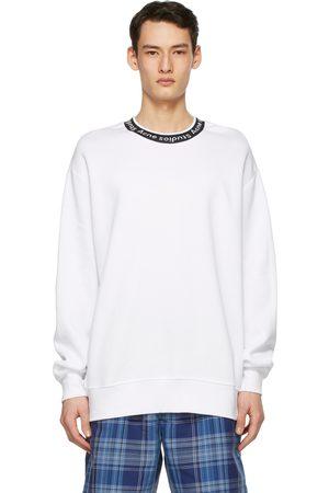 Acne Studios Men Sweatshirts - Jacquard Logo Sweatshirt