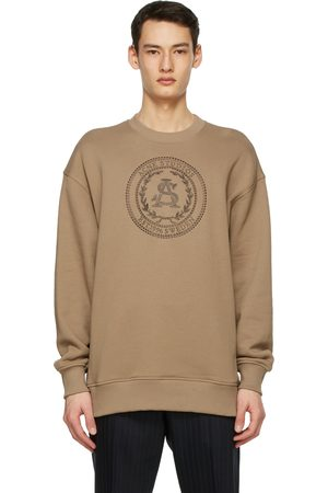 Acne Studios Men Sweatshirts - Oversized Embroidered Sweatshirt