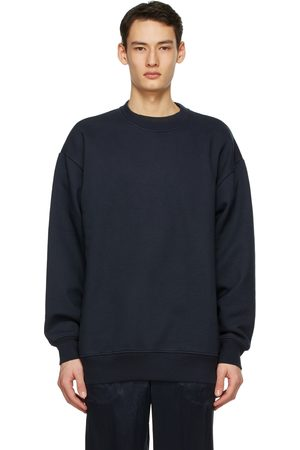 Acne Studios Men Sweatshirts - Navy Label Sweatshirt