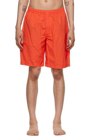 Y-3 Mid-Length Logo Swim Shorts