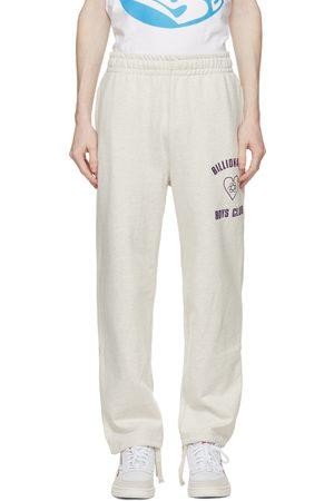 Billionaire Boys Club Grey Heart Logo Sweatpants