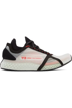 Y-3 White 4D IOW Sneakers