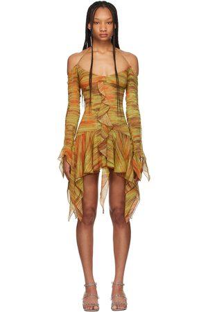 Charlotte Knowles Silk Kerchief Dress