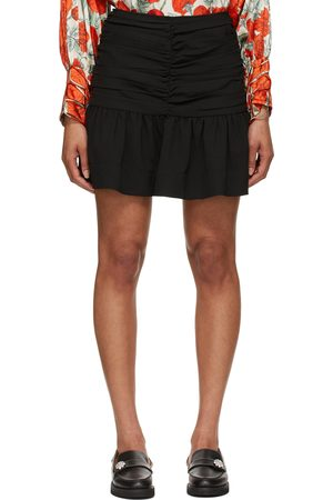 Ganni Heavy Crepe Miniskirt