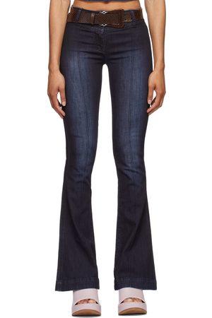 Charlotte Knowles Navy Harley Jeans