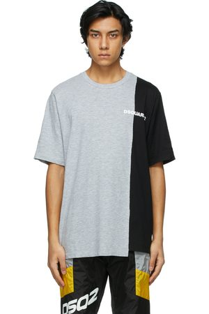 Dsquared2 Grey and Bicolor T-Shirt