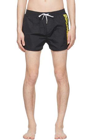 Dsquared2 Black Logo Swim Shorts