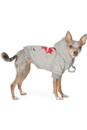 Dsquared2 Grey Poldo Dog Couture Edition Maple Ottawa Hoodie