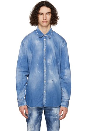 Dsquared2 Men Denim - Denim Relaxed Dan Shirt