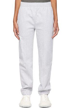 Helmut Lang Women Sweats - Grey School Lounge Pants