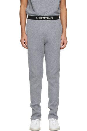 Essentials Grey Thermal Lounge Pants