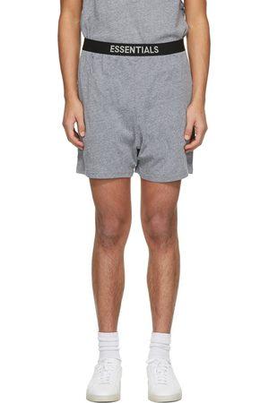 Essentials Grey Jersey Lounge Shorts
