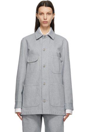 Maison Margiela Women Denim Jackets - Denim Sport Jacket