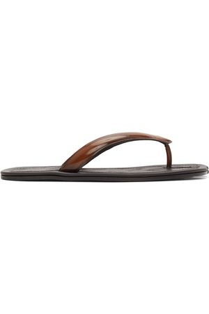 Maison Margiela Patent Tabi Flip Flops
