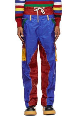 Moncler Genius Men Cargo Pants - 1 Moncler JW Anderson Multicolor Colorblocked Cargo Pants
