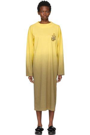 Moncler Genius Women Midi Dresses - 1 Moncler JW Anderson Degrade Dip Dye Dress