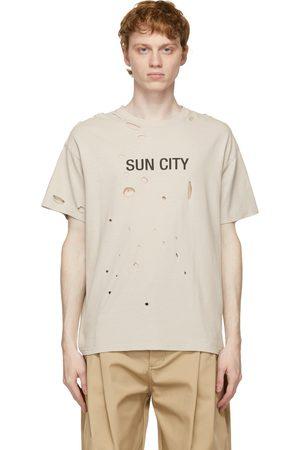 SANKUANZ Grey Sun City Holes T-Shirt