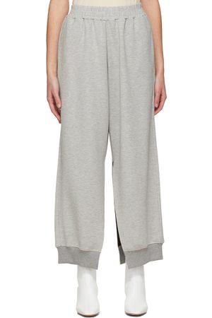 MM6 MAISON MARGIELA Grey Split Leg Lounge Pants